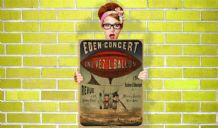 Eden Concert Enl' Vez L Ballon - Decorative Arts, Prints & Posters,Wall Art Print, Poster , Vintage Travel Poster